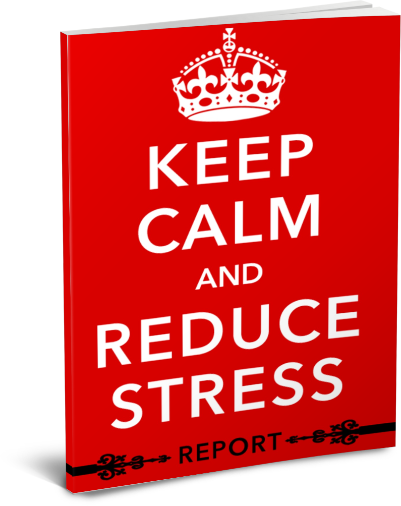 keep calm and reduce stress