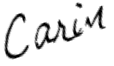 A Carin Signature